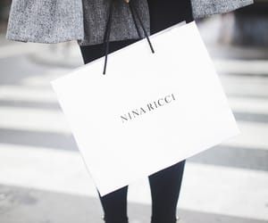 fashion, Nina Ricci, and shopping image