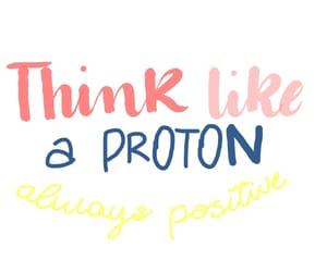 chemistry, hand lettering, and proton image