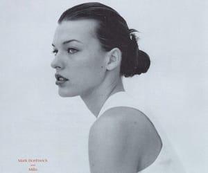 1995, black and white, and Milla Jovovich image