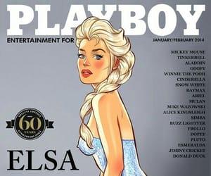 disney, elza, and Playboy image