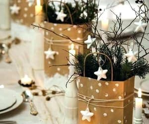 candle, decorations, and christmas image