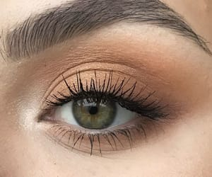 eyes, makeup, and beautiful image