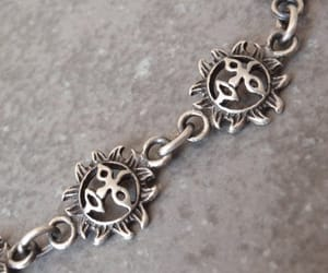 etsy, here comes the sun, and sterling silver image