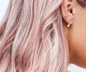 earrings, fashion, and pink image