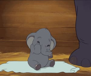 baby, dumbo, and disney image