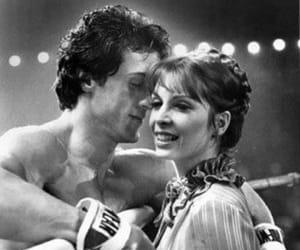 rocky, adrian, and Rocky Balboa image