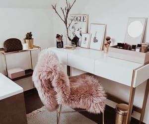 pink, makeup, and home image