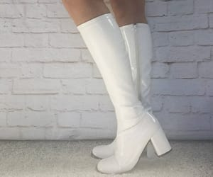 boots and white image