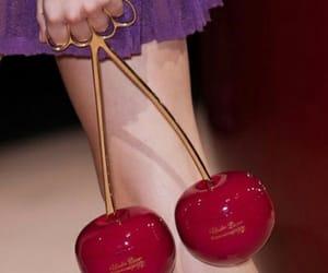 cherry, fashion, and bag image