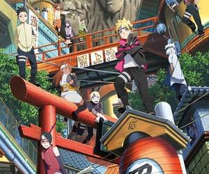anime, naruto, and boruto image