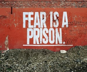 fear, phrases, and wall image