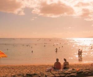 aesthetic, beach, and summer haze image