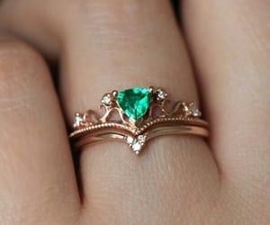 diamond, girls, and jewelry image