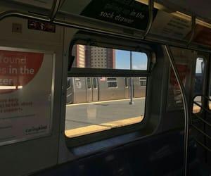 aesthetic, travel, and window image