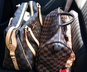 bags, luxury, and LV image