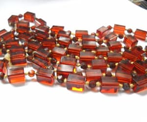 etsy, czech glass beads, and hand knotted image