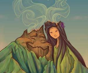 disney, love, and volcano image