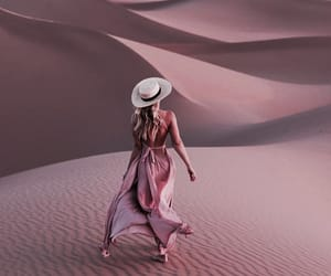 adventure, desert, and dress image