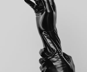 aesthetic, hands, and black image