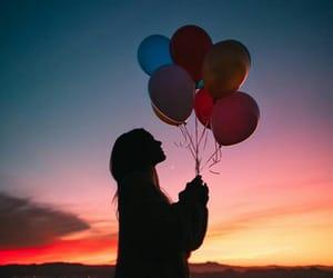 aesthetic, @ultraunicorn22, and balloon image