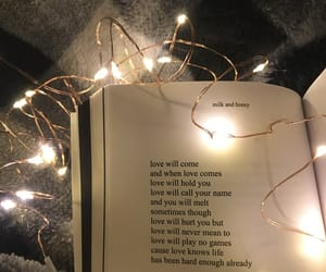 fairy lights, lights, and love quotes image