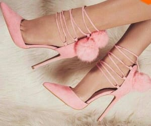 heels, 👠, and pink image