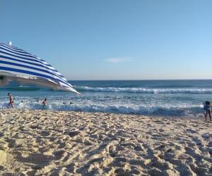 beach, beautiful, and brasil image