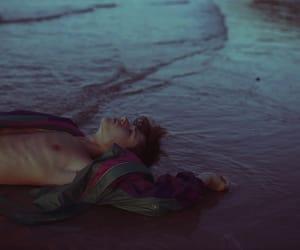 boy, grunge, and beach image