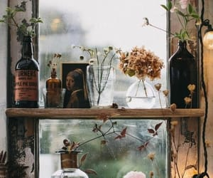 vintage, flowers, and plants image