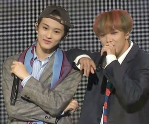 mark, mark lee, and nct 127 image