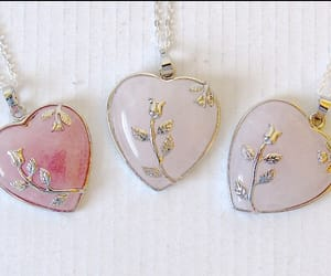 jewelry, necklace, and pastel image