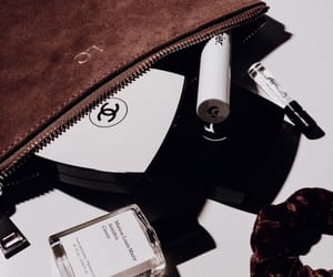 bag, chanel, and cosmetics image