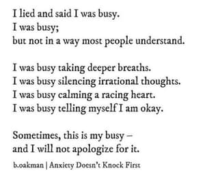 anxiety and busy image