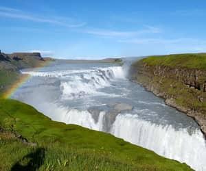 iceland and gullfoss image