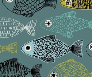 wallpaper, fish, and background image
