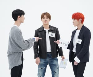 jungwoo, taeyong, and doyoung image