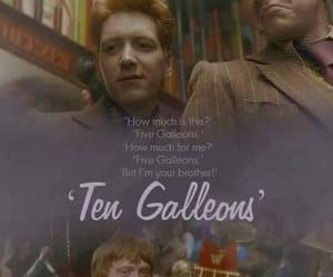potter, ten, and weasley image