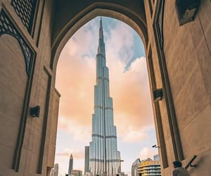Dubai and burj khalifa image
