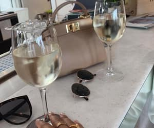drink, fashion, and wine image