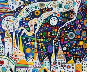 arte, colores, and Noche image