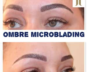 ombre permanent eyebrows, ombre brows microblading, and ombre brows permanent image
