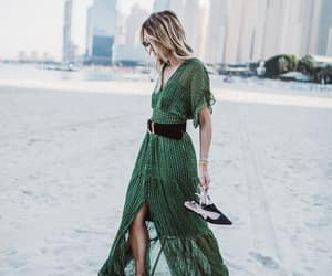 beach, blondie, and green image