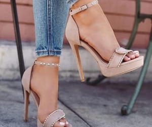 casual, sandal, and cute image