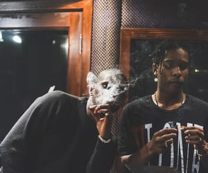 smoke, asap rocky, and asap image