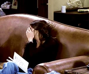 courtney cox, monica geller, and funny image