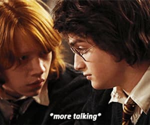 funny, harry potter, and gif image