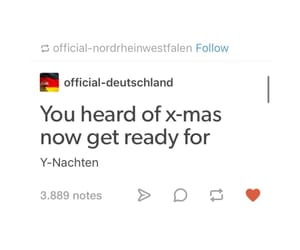christmas, funny, and german image