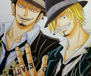one piece, sanji, and anime image