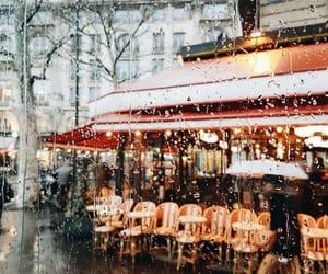 photography, city, and rain image