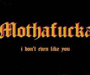 peace, mothafucka, and i dont even like you image